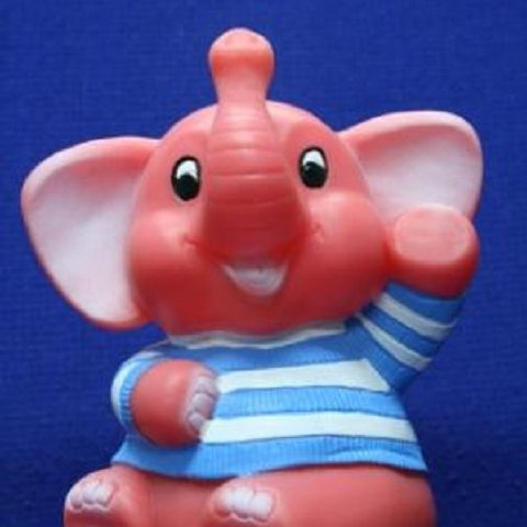 pink elephant collecting box
